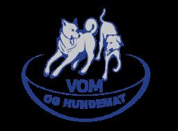 VOM og hundemat blue logo